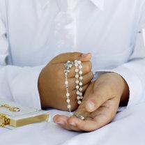 różaniec i modlitewnik