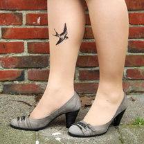 Rajstopy z tatuażem krok 6
