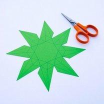 Diament z papieru krok 2