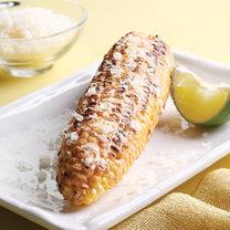 Kukurydza z grilla z limonką i serem