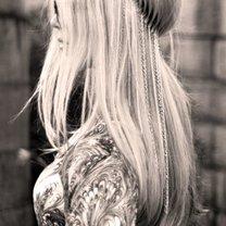 opaska do włosów z łańcuszkami