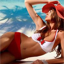bikini w stylu retro