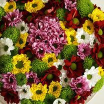 Tort z kwiatów krok 5