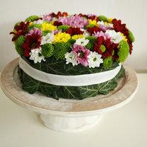 tort z kwiatów