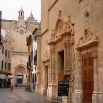 Gotycka katedra w Ciutadella na Minorce