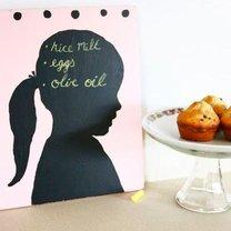 Tablica do pisania na Dzień Matki