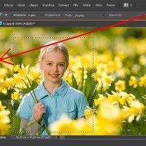 Dopasowywanie ramki do zdjęcia w Phofoshop 3