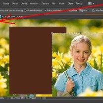 Dopasowywanie ramki do zdjęcia w Phofoshop 4