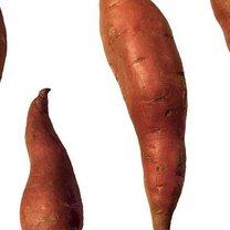 Słodkie ziemniaki.