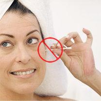 zakaz stosowania patyczków do uszu