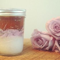 peeling różany