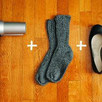 zestaw do rozciągania butów