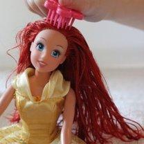 Czesanie włosów lalek krok 5