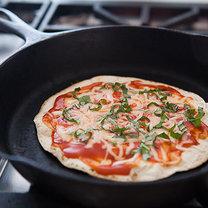 pizza z patelni - krok 5