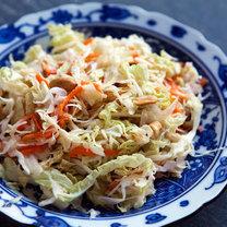 chińska sałatka z kapusty