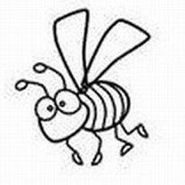 Rysowanie pszczoły krok 5