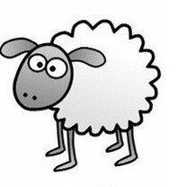 Rysowanie owieczki krok 6