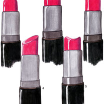 kształty szminki
