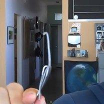 drylowanie wiśni widelcem - krok 6