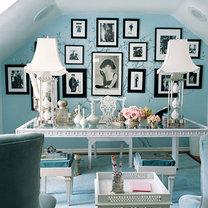 Niebieskie biuro