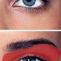 dzienny smoky eyes - krok 1