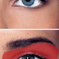 dzienny smoky eyes - krok 2