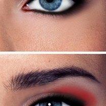 dzienny smoky eyes - krok 8