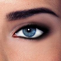 dzienny smoky eyes