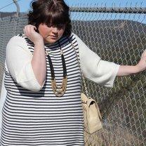 Too Many Sequins - moda dla puszystych