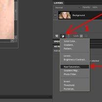 Wybielanie zębów na zdjęciu Photoshop 2