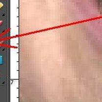 Wybielanie zębów na zdjęciu Photoshop 12
