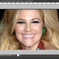 Wybielanie zębów na zdjęciu Photoshop 16