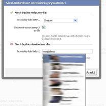 Ukrywanie aktywności na Facebooku