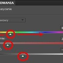 Zmiana koloru źrenic w Photoshop 8