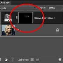 Zmiana koloru źrenic w Photoshop 11