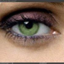 Zmiana koloru źrenic w Photoshop 13