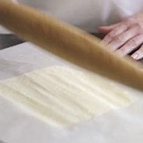 croissanty z ciasta francuskiego - krok 2
