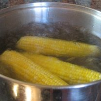 Gotowanie kukurydzy