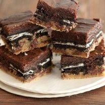 warstwowe brownies