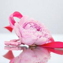 Bransoletka z kwiatkiem