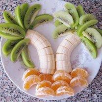 Sałatka hawajska - palmy