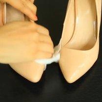 Buty z metalowym czubkiem krok 1