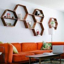 Półka w kształcie plastra miodu