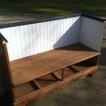 ławka z komody - krok 2