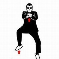 Instrukcja tańca Gangnam Style 2