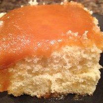 Ciasto z polewą kajmakową