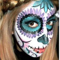 makijaż Dia de los Muertos