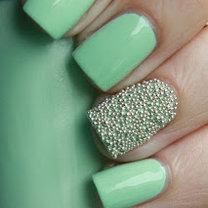 kawiorowy manicure