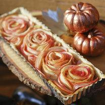 różyczki z jabłek