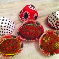 świąteczne muffinki owsiane